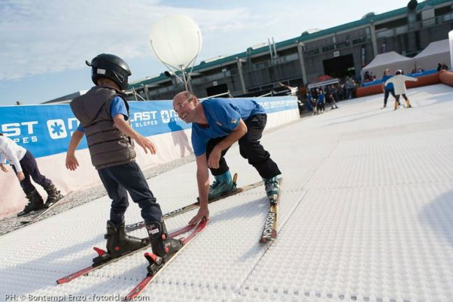 Urban Ski Lab a Lilliput